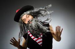 αστείος πειρατής Στοκ Φωτογραφίες