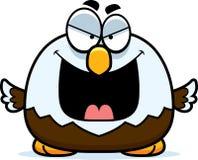 Злий маленький белоголовый орлан Стоковые Фото