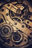 абстрактный механизм состава часов предпосылки Стоковое фото RF