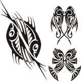 Знаки зодиака - рыбы Винил-готовый комплект вектора Стоковые Изображения