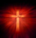 Χριστιανικός θρησκευτικός σταυρός Στοκ Εικόνες