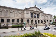 Το ίδρυμα τέχνης Σικάγου, Ιλλινόις, ΗΠΑ Στοκ φωτογραφία με δικαίωμα ελεύθερης χρήσης
