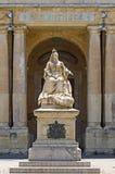 对女王维多利亚,瓦莱塔,马耳他的纪念碑 库存照片
