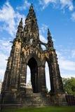 爱丁堡王国纪念碑苏格兰斯科特团结了 库存图片