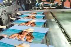 书,杂志,编目生产锂印刷品房子 免版税图库摄影
