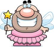 Усмехаясь фея зуба шаржа Стоковое Изображение