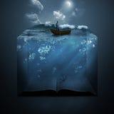 Άγκυρα και Βίβλος Στοκ Εικόνες