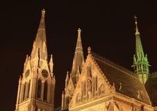 教会布拉格 库存图片