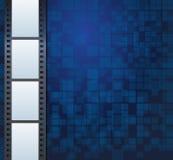 空白的照片或录影模板 免版税库存图片