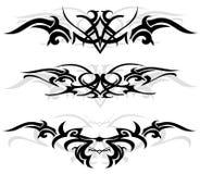 设计纹身花刺 免版税库存图片