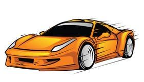 черный спорт автомобиля Стоковое Изображение