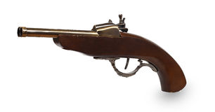 античная пушка Стоковые Фотографии RF