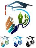 教育商标 库存图片