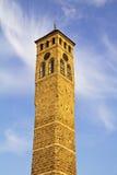 手表塔在萨拉热窝, 库存图片