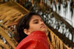 Ανησυχημένο νέο ασιατικό κορίτσι Στοκ φωτογραφία με δικαίωμα ελεύθερης χρήσης