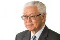 新加坡总统陈庆炎 库存图片