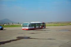 国际机场,平壤,北朝鲜 免版税库存照片