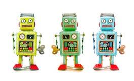 机器人队 免版税库存照片
