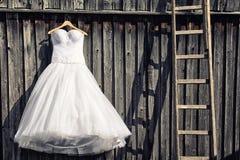 венчание заказа части платья Стоковая Фотография