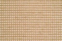 被编织的西沙尔麻&羊毛地毯背景 库存图片
