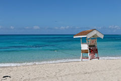 牙买加海滩 免版税库存图片