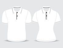 Περίληψη ανδρών και γυναικών πουκάμισων πόλο Στοκ φωτογραφίες με δικαίωμα ελεύθερης χρήσης