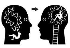精神病学概念 库存图片