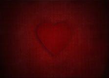 在维多利亚女王时代的墙纸背景,例证的红色华伦泰心脏为母亲节 库存照片