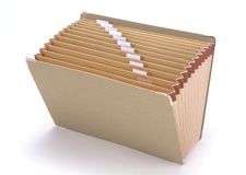 文件夹 免版税库存照片