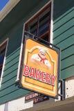 面包店标志 免版税库存照片