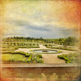 凡尔赛城堡,巴黎,法国 免版税图库摄影