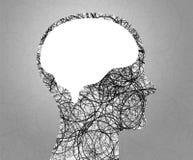Ο εγκέφαλος Στοκ Εικόνες