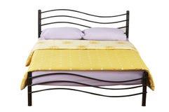 Двуспальная кровать Стоковое фото RF