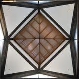 苏州博物馆天花板  库存照片