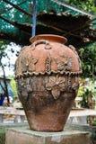 黏土瓶子 图库摄影