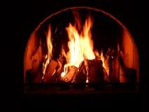 壁炉 库存图片