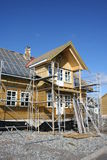 дом конструкции вниз Стоковая Фотография RF