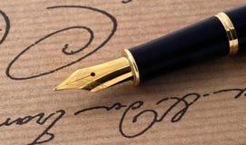 钢笔 库存照片