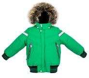 Теплая изолированная куртка Стоковые Фотографии RF