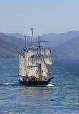 高的帆船 免版税库存照片