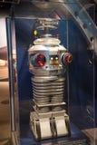丢失在空间机器人在美国航空航天局肯尼迪航天中心 免版税库存图片