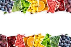 新鲜水果蔬菜 免版税库存照片