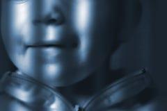 за решетками ребенка Стоковые Фотографии RF