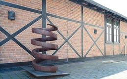 市政工程博物馆在波兰 免版税库存照片