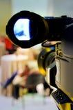 照相机数字式专业录影 库存图片