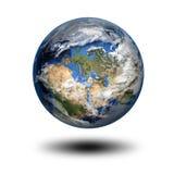 τρισδιάστατη εικόνα του πλανήτη Γη Στοκ Εικόνες