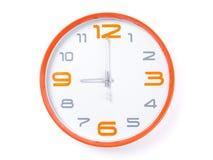 现代的时钟 免版税库存图片