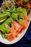 Здоровый крупный план еды Стоковое Изображение RF
