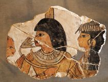 一部分的埃及历史 免版税库存照片