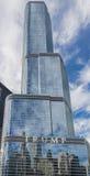 芝加哥塔王牌 免版税库存照片